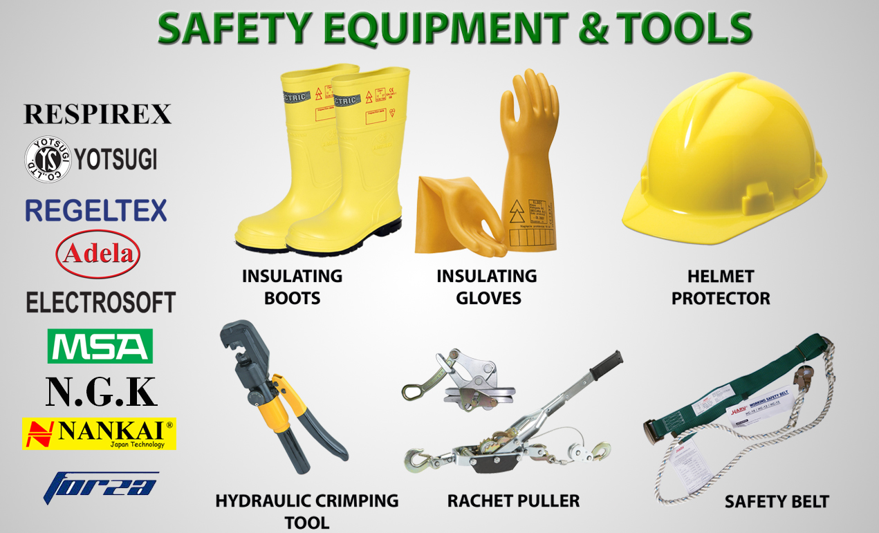 Jual Alat Safety - Safety Equipments